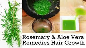 Natural Hair Growth Treatments Natural Hair Growth Remedies Rosemary U0026 Aloe Vera Juice How To