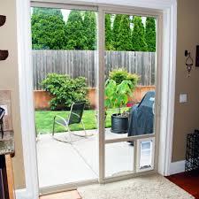 pet door in sliding glass door sliding door pet door theflowerlab interior design dog door