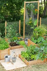 Small Vegetable Garden Ideas Ways To Decorate A Fence With Planters Best Small Vegetable