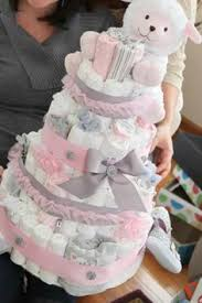 Learn How To Make A Diaper Cake Today With 50 Different Diaper