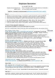 Business Consultant Resume Procurement Consultant Resume Resume For Your Job Application