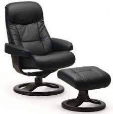 small black leather recliner foter
