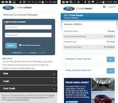 ford com login ford credit account manager apk version 1 0 3 com