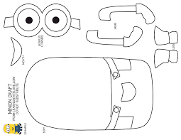 Minion Coloring Pages For Kids Just Colorings Cut Coloring Pages