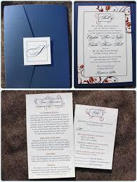 pocket wedding invitations wedding invitation ideas charming blue pocket wedding invitations