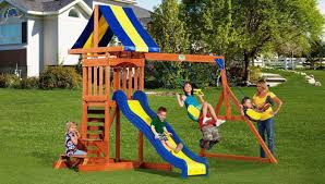 small playground equipment the omnitrinet is the centerpiece of