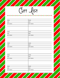 Best Exchange Gift For Christmas - christmas gift exchange wish list template 2017 best template