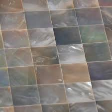 Black Seashell Designer Tiles For Kitchen Backsplash Cheap - Seashell backsplash