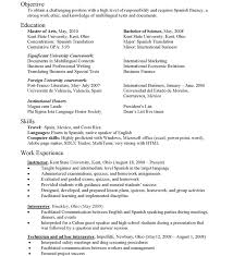 Resume In English Examples by Resume Sample Translator Resume In English Example For Translate