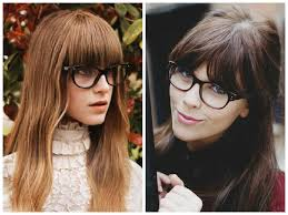 hairstyles for long straight hair with glasses bangs and glasses hairstyle ideas hair world magazine