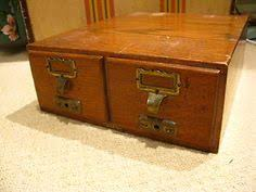 Mini Filing Cabinet Vintage Wooden Filing Cabinet Ebay Libraries U0026 Library Things