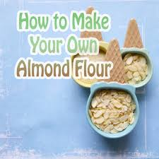 how to make almond flour for macarons