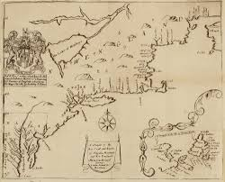 Map Of Maryland The First English Map To Illustrate The Middle And North Eastern