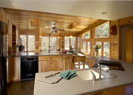 rustic sunroom addition and kitchen remodel bel air construction