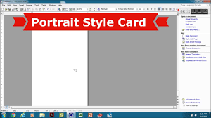 Creating Business Cards In Word Creating Cr80 Pvc Cards In Ms Word Inserting Graphics Youtube