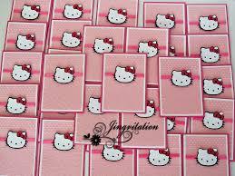 Hello Kitty Invitation Cards Hello Kitty Invitation Www Facebook Com Jingvitations Jing U2026 Flickr