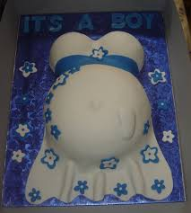 this was my first attempt of a pregnancy belly baby shower cake
