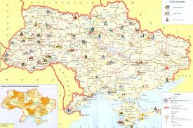 Map Of Ukraine And Crimea Large Detailed Tourist Map Of Ukraine Ukraine Large Detailed