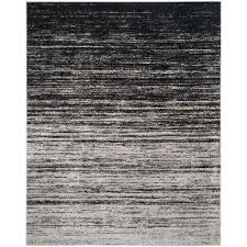 Black And Silver Rug 8 X 10 Safavieh Distressed Area Rugs Rugs The Home Depot