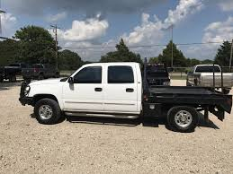 2006 chevrolet silverado 1500hd 4x4 crewcab flatbed for sale in