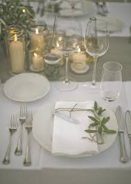 Romantic Table Settings The Perfect Romantic Italian Garden Dinner Party Sophisticated