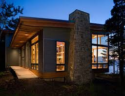modern lake house with amazing interior design from finne pictures