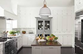 Hutch Kitchen Cabinets Antique Gray Hutch Kitchen