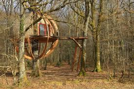 tree houses in northern france