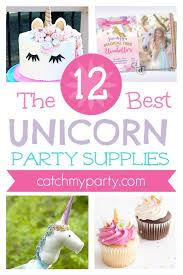 birthday supplies the best 12 rainbow unicorn party supplies catch my party