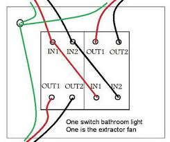replacing a bathroom light fan switch connections diynot forums