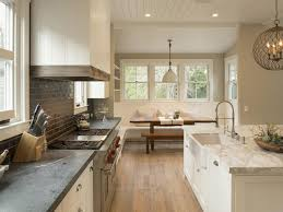 Kitchens Interiors by Modern Farmhouse Kitchen Interiors Dominated With White Cabinets