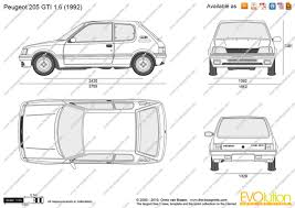 peugeot partner dimensions peugeot 106 1 6 1993 auto images and specification