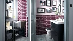 small bathroom ideas ikeaa small decorated bathroom with a reading