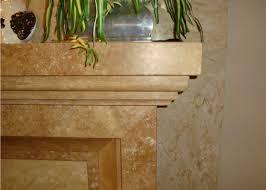 light travertine fireplace millestone marble u0026 tile