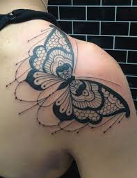 psychedelic butterfly search tattoos