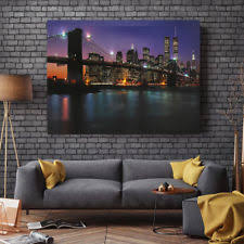 lighted pictures wall decor led canvas ebay