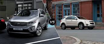 chevy equinox 2016 kia sorento vs 2015 chevy equinox