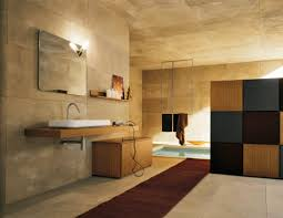 decoration artistic design for your wooden bathroom interior