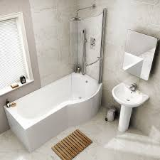 1700mm right hand shower bath p shaped bath tub with screen price 207 99 was