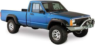 1991 jeep comanche specs and bushwacker 10912 07 cut out fender flares for 84 96 jeep cherokee