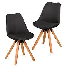 Esszimmerstuhl In Grau 2er Set Design Retro Stuhl Esszimmerstuhl In Stoff Bezug