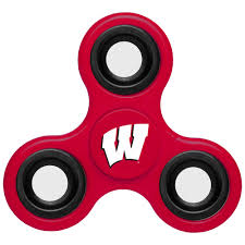 wisconsin badgers home decor university of wisconsin furniture wisconsin badgers 3 way fidget spinner