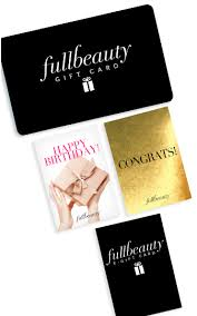 gift cards for women plus size gift cards for women fullbeauty