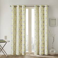 White Contemporary Curtains Curtain 10 Inspiring Print Curtains Decoration Ideas Printed