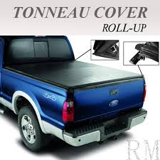 Ford F 150 Truck Bed Cover - lock roll up soft tonneau cover fit 2009 2017 dodge ram 1500 2500