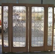 Exterior Door Inserts Bevel Clusters Entry Ii Glass Door Inserts Sans Soucie