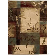 Nature Area Rugs Weavers Of America Multicolor Rectangular Indoor