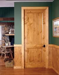 wooden doors high country from trustile