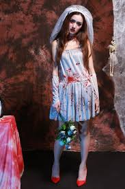aliexpress com buy halloween bloody ghost bride costumes