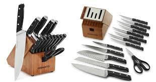 amazon 83 99 calphalon 15 pc cutlery knife block set 220 value